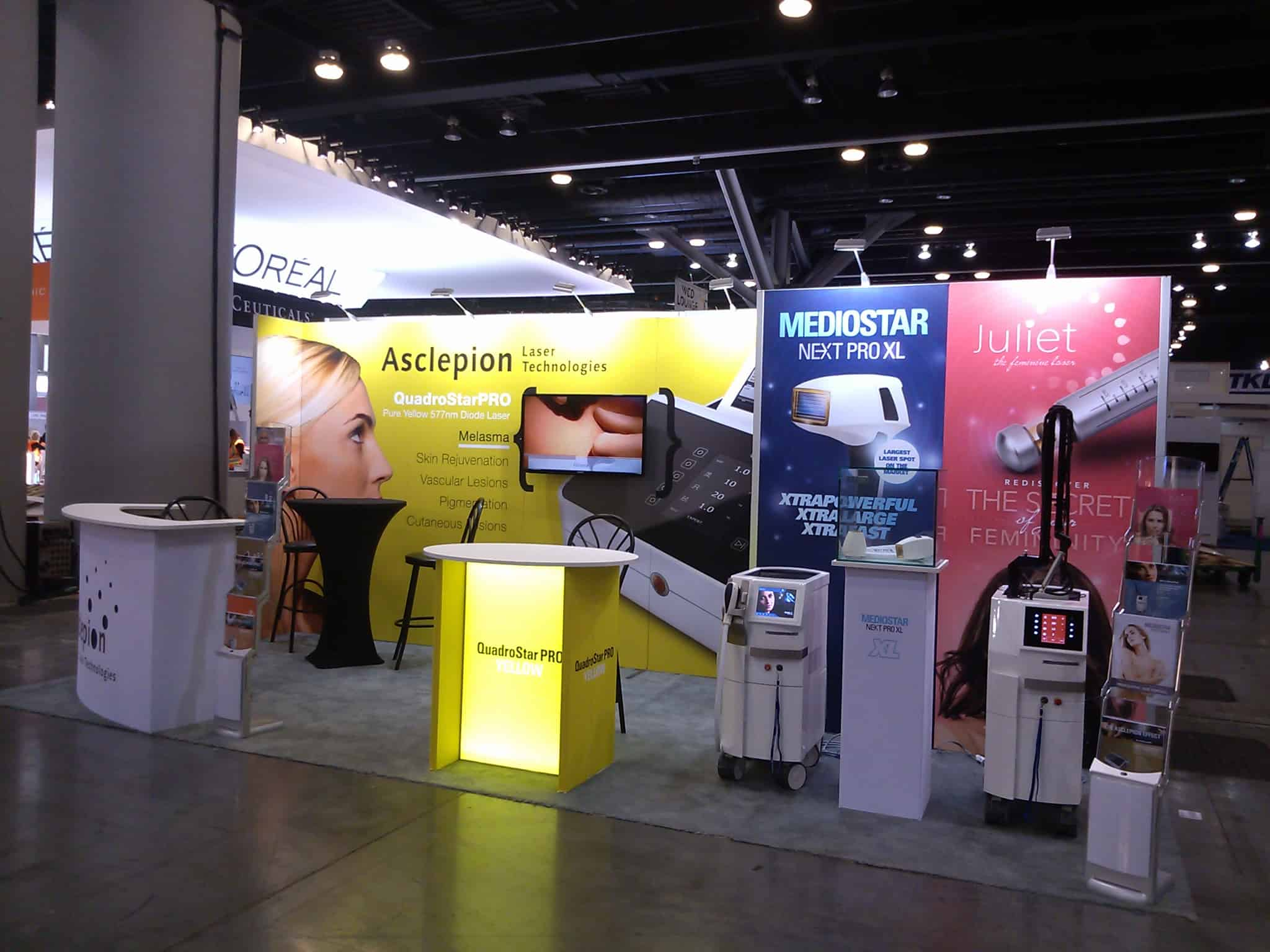 CoMotion Exhibits Events Inc is a full-service trade show