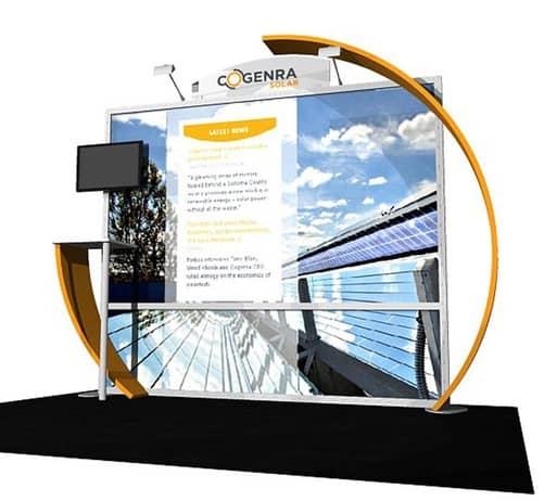 eco system 10x10 display