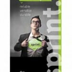 Sprint - premium banner for trade shows and event displays