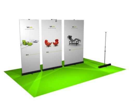 Duo.Set Banner Stand - Trade Shows - CoMotion.ca