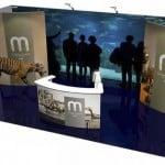 10 x 20 modular exhibit Panoramic