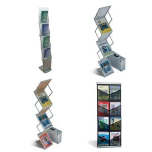 Booth Accessories - Brochure Racks