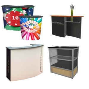 Booth Accessories - Reception Counters