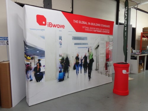 Trade Show Booth Edmonton : Xtension portable display for trade shows setup in less